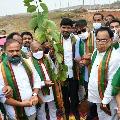 Bollywood actor Ajay Devgan participates Green India Challenge