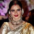 BMC officials sealed actress Rekha bungalow
