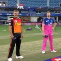 SRH won the toss against Rajasthan Royals in a crucial match