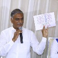 Harish Rao describes BJP as Bharathiya Jhuta Party