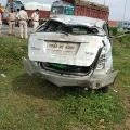 up gangster Firoz ali killed in road accident
