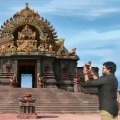 Chiranjeevi compliments Acharya film set