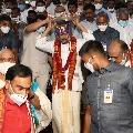 CM Jagan visits Indrakeeladri this evening