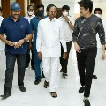 Chiranjeevi and Nagarjuna thanked CM KCR