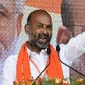 Bandi Sanjay targets KCR and DGP