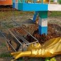 YSR Statue Demolished in Srikakulam Dist