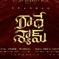Music director for Radhe Shyam confirmed