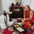 TTD Chairman YV Subbareddy met Swaroopananda in Rishikesh