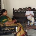 Somireddy met Panabaka Lakshmi and discussed Tirupati by polls