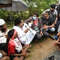 Pawan Kalyan off road meeting with youth in Nellore district