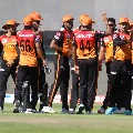 Sunrisers loosen the grip as Kolkata posted one hundred and sixty three runs
