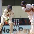 team india score 121 in chennai test