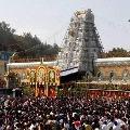 Srivari Brahmotsavalu will start from september 27