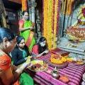 KCR Family in Varanasi