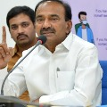Eatala Rajender replies to JP Nadda comments on corona situations Telangana
