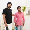Stylish star alluarjun met his fan