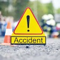 Mother and son died in a road accident on Sagar road