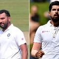 Roit Sharma and Ishant Sharma to miss first two tests