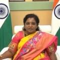 tamili sai praises telangana govt