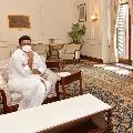 Raghurama Krishnaraju met President Ramnath Kovind in Delhi