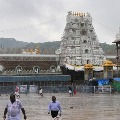 Cyclone Burevi effect heavy rains in Tirumala