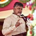 Chandrababu once again fires in YCP leaders