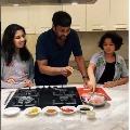 Megastar Chiranjeevi prepares KFC style chicken