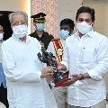 CM Jagan met AP Governor Biswabhushan Harichandan