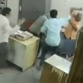 An employee of a hotel in Nellore under Andhra Pradesh Tourism Department beat up a woman colleague