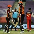 Sunrisers rams into qualifiers two by beating RCB in IPL eliminator