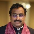 Ram Madhav Intresting Tweeton Dubbaka Counting
