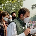 Laws Meant To Finish Farmers Rahul Gandhi Leads Congress Delhi Protest