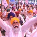Farmers protest reached to 17th day