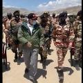 modi video in ladakh