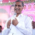 Minister Harish Rao appreciates Vennela Reddy who got ninth rank in national level entrance test