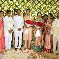 CM KCR attends Dr Pratheek engagement in Hyderabad