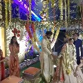 Photos of Rana and Miheeka Bajaj wedding held at Ramanaidu studios