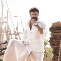 Balakrishna getting ready for his shooot