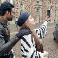 Prabhas selfies with Bollywood choreographer Vaibhavi Merchant
