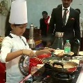 Tamilnadu Girl Cooks 46 Dishes in 58 Minutes