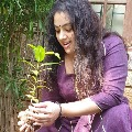 meena accepts green india challenge