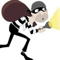 Police involves in a robbery in UP