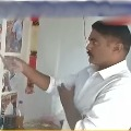 Vizag police constable offers prayers to his father