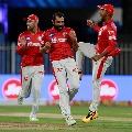 KXIP Bowlers restrict Kolkata batsmen for a normal score
