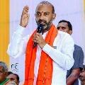 Bandi Sanjay slams TRS government over Kaleswaram project