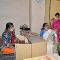 Vasireddy Padma visits Nellore tourism department contract employ