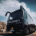 Lorry hits Allu Arjun caravan