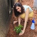 Raashi Khanna participates in Green India Challenge
