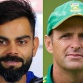 After my suggestion Kolhi made hig first century says Gary Kirsten
