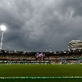 Rain stops fourth day play in Brisbane test